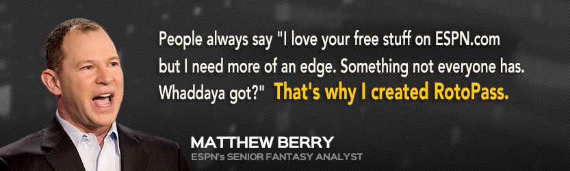 RotoPass | The Ultimate Fantasy Football Resource by Matthew